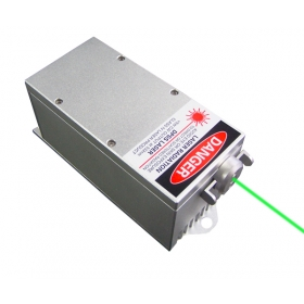 1000mW 532nm Зеленая DPSS Лазерная Система