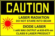 лазер класса II