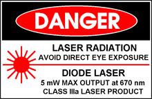 Лазер класса IIIa