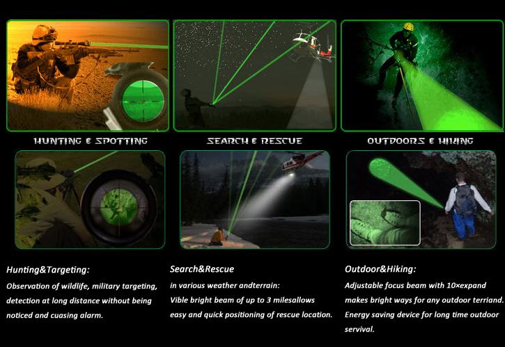 50mW ND50 Длинный Лазерный Челеуказатель Расстояние